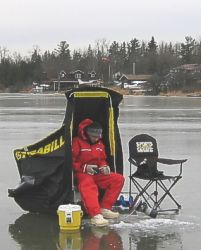 ontario fishing network newsletter - ice fishing equipment overview, Reel Combo